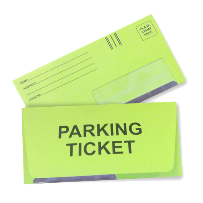 Parking Ticket Pic Opens in new window