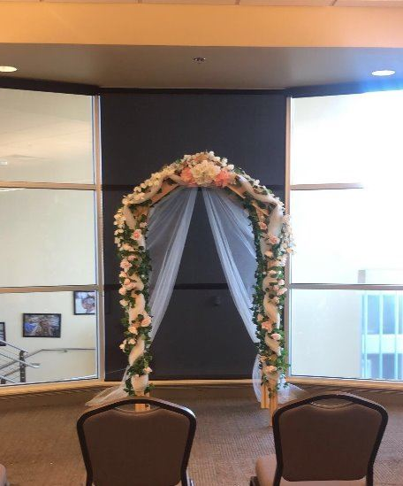 Wedding Arch Community Center