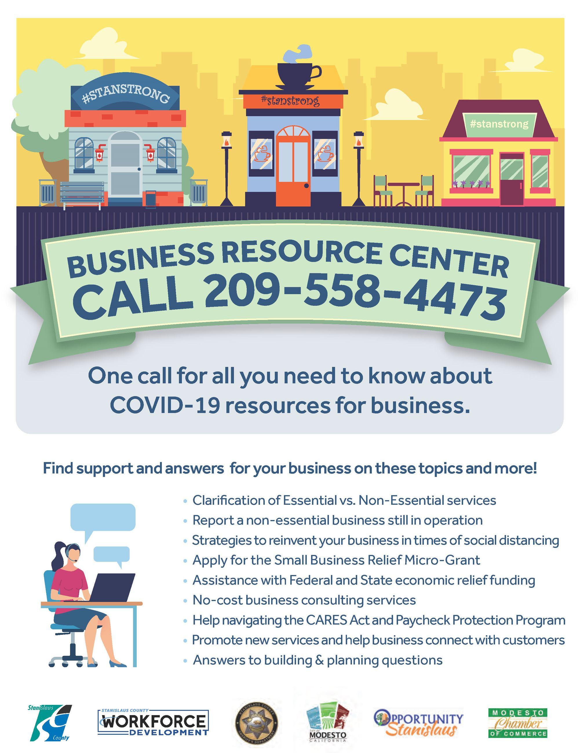 Business Resource Center Flyer