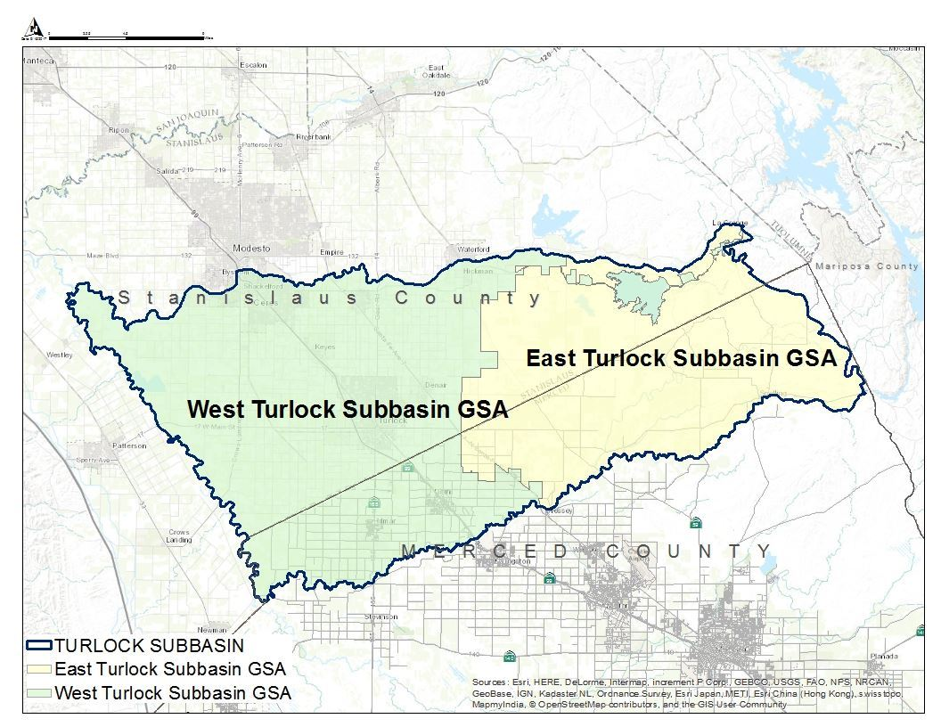 Turlock Subbasin GSA Opens in new window